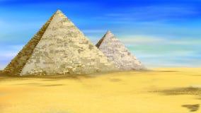 Pyramider av Egypten 01 Royaltyfria Bilder