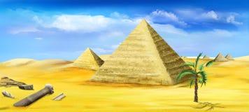 Pyramider av Egypten 03 Arkivbilder