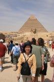 Pyramider av Giza Arkivbild