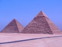 Pyramider av Giza Royaltyfri Fotografi