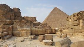 Pyramider på den Giza Kairo Royaltyfri Bild