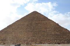 Pyramides égyptiennes Photos stock