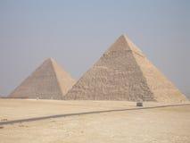 Pyramides Photographie stock libre de droits