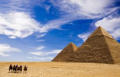 Pyramides Photographie stock