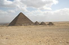 pyramides Image libre de droits