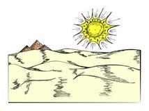 pyramides Arkivbilder