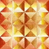 Pyramides décoratives empilées pour le fond sans couture - panneautage coffered Photo libre de droits