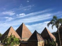 Pyramides de Coffs Harbour Photos libres de droits