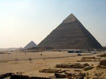 Pyramides de Giza Images libres de droits