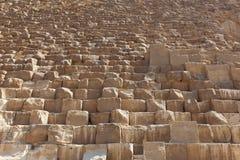 Pyramides de Gizeh, Egypte (stade) Photos stock
