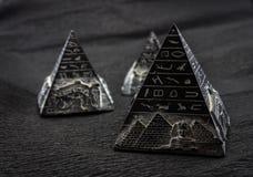 Pyramides de l'Egypte photo libre de droits
