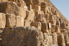 Pyramides de stade, Egypte Photos stock