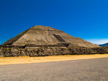 Pyramides de Teotihuacan Photo libre de droits