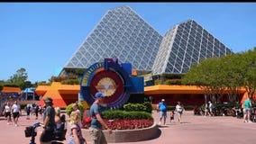 Pyramides de voyage dans l'attraction d'imagination dans Epcot ? la r?gion de Walt Disney World Resort clips vidéos