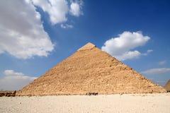 Pyramides del gizeh Foto de archivo libre de regalías