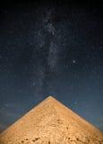 Pyramides des pharaons à Gizeh Photos stock