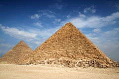 Pyramids of gizeh Royalty Free Stock Photography