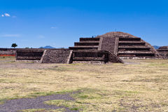Pyramides Mexique de Teotihuacan Photographie stock
