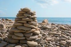 pyramidion камушка Стоковая Фотография