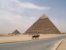 Pyramids Royalty Free Stock Photos