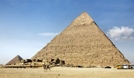 The pyramids Stock Photography