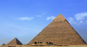 The pyramids Royalty Free Stock Image