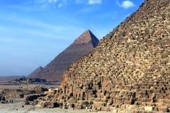 The pyramids Royalty Free Stock Photos