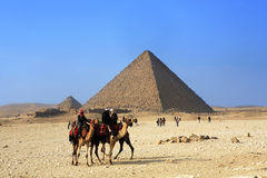 The pyramids Royalty Free Stock Photo