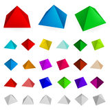 Pyramids Royalty Free Stock Photo