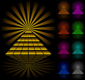 Pyramids vector illustration
