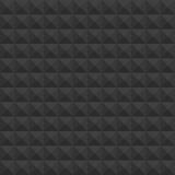 Pyramids black pattern. Stock Photo