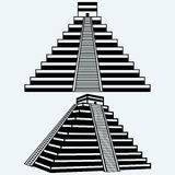 Pyramids in central mexico Royalty Free Stock Images
