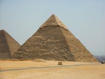 Egypt Pyramids Sand Desert Travel Sun royalty free stock image