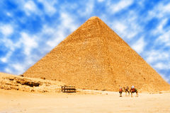 Pyramids in egypt Stock Photos