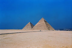 Pyramids Egypt Royalty Free Stock Images