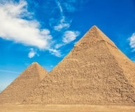 The Pyramids in Egypt Royalty Free Stock Image