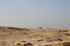 Pyramids of Egypt. Pyramids of Giza on the background of Cairo. Egypt Royalty Free Stock Images