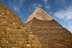 Pyramids at Giza Royalty Free Stock Photo