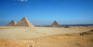Pyramids of Giza Royalty Free Stock Images