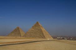 Pyramids Giza Stock Photography