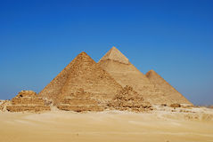 The Pyramids at Giza Stock Photos
