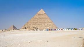 Pyramids of Giza Royalty Free Stock Images