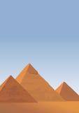 Pyramids of Giza Royalty Free Stock Image