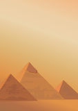 Pyramids of Giza Royalty Free Stock Photos