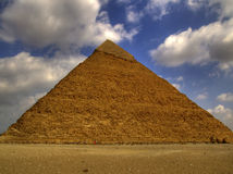 Pyramids of giza 29. One of the great pyramids of giza in Egypt Royalty Free Stock Photography
