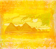 Pyramids giza Stock Image