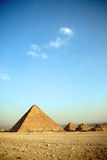 Pyramids at Giza Stock Image