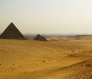 Pyramids of giza Royalty Free Stock Image