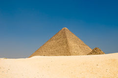 Pyramids of Giza, Cairo Stock Images