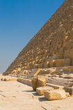 Pyramids of Giza, Cairo Royalty Free Stock Photography